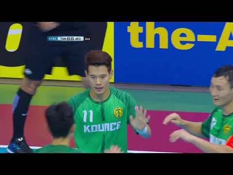 Thai Son Nam FC 10-1 Jeonju MAG FC (AFC Futsal Club Championship 2018 : Group Stage)