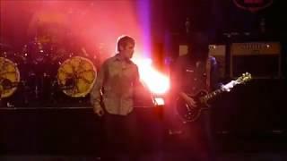 The Stone Roses, Love Spreads. Jonny Joyce-O'Keeffe's hat & Ian Brown