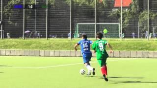 Blau-Weiss 90 - TSV Helgoland II (Tempelhof-Schöneberg-Bezirkspokal) - Spielszenen I SPREEKICK.TV