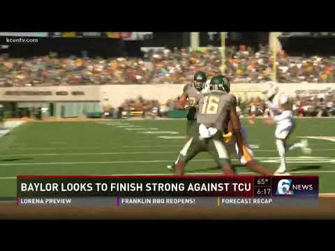 Baylor looks to finish strong against TCU