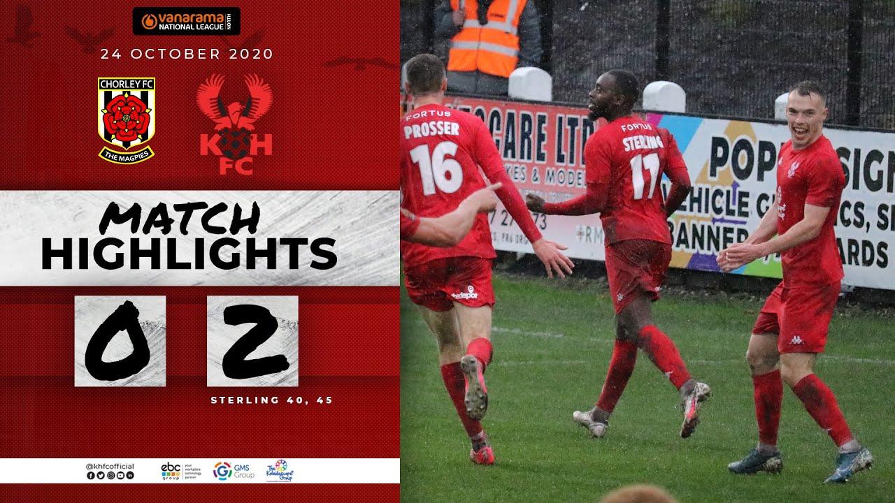 Match Highlights: Chorley 0-2 Harriers 24/10/20