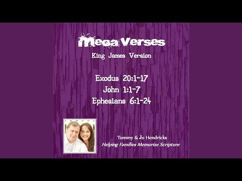Exodus 20:1-17: Ten Commandments