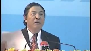 Ông Nguyễn Bá Thanh.nói chuyện với CSGT Đà Nẵng