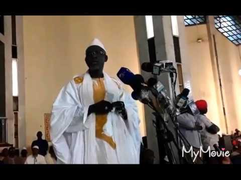 Chérif Ousmane Madani Haidara à grand mosqué Bamako 13/07/2017