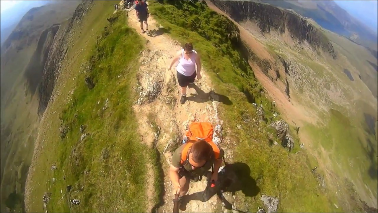 how to walk up snowdon