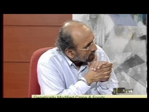 Panel Discussion on GM Crops and Food Lok Sabha TV 2017 Part 1