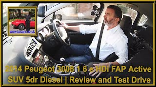 Review and Virtual Video test Drive In Our Peugeot 3008 1 6 e HDi FAP Active SUV 5dr Diesel