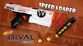 Nerf Rival KRONOS | SPEEDLOADER, Burstfire, and more #rivalweeks