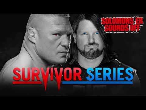 WWE Survivor Series 2017 Full Show Review | BROCK LESNAR VS. AJ STYLES!