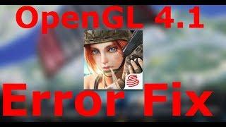 Rules Of Survival - OpenGL 4.1 Error Fix %100 Working  32/64 bit INTEL