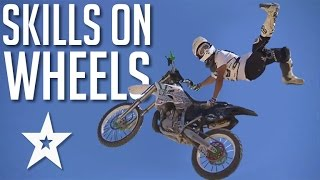 Skills On Wheels: Extreme Vehicle Acts | Got Talent Global