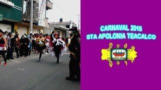 Carnaval Santa Apolonia Teacalco 2016 Huehues