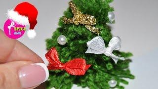 мИНИ новогодняя Ёлка. ОЧЕНЬ ПРОСТО!/DIY MINI Christmas tree. TOO EASY