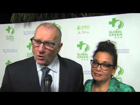 Global Green USA Pre Oscar Party: Ed O'Neill & Catherine Rusoff Interview