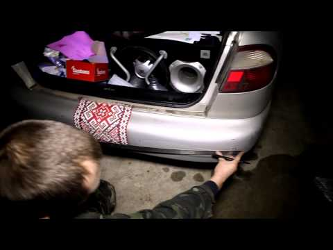 Установка датчика парковки Ланос Lanos