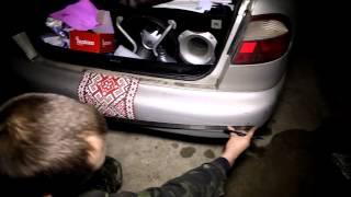 Установка датчика парковки Ланос ( Lanos )(Установка парктроника Ланос Датчик парковки Fantom FT-411 Парктроник Fantom FT-411 Датчик парковки на Lanos., 2014-12-12T09:39:56.000Z)