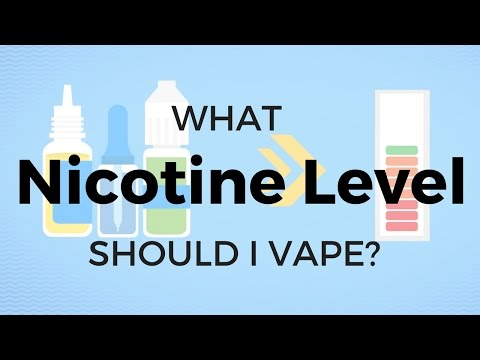What Nicotine Level Should Vape