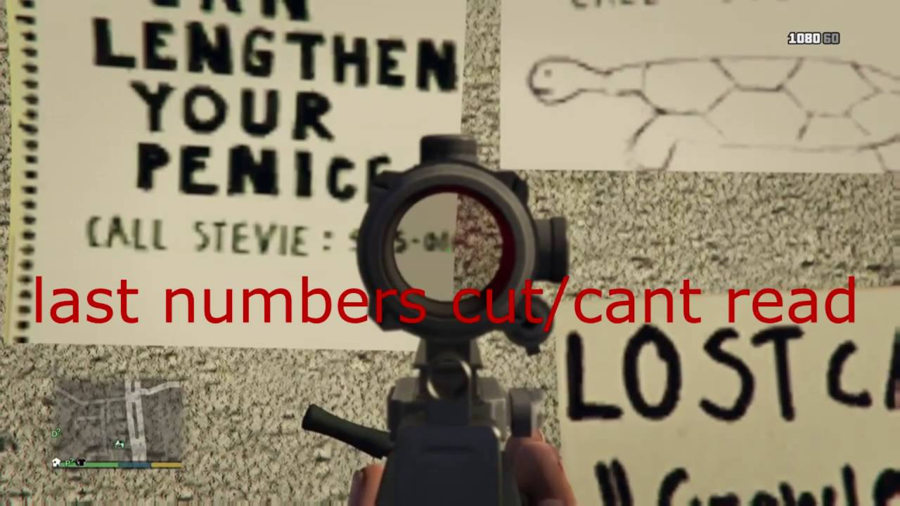 GTA 5 Mount Chiliad Mystery Strange Phone Numbers (all in the same