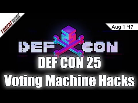 Hacking Voting Machines, BroadPwn in Vegas, and #LeakTheAnalyst - DEF CON 25 - Threat Wire
