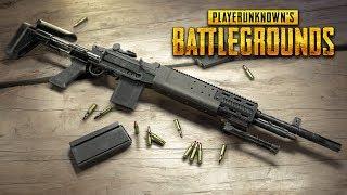 NEW PUBG UPDATE!! NEW Mk14 EBR Sniper Rifle Weapon! (Player Unknown Battlegrounds)