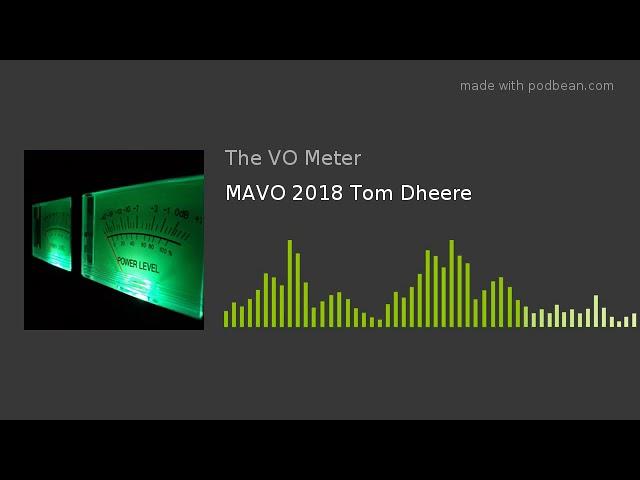 MAVO 2018 Tom Dheere