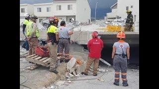 Al menos siete personas murieron por un derrumbe en Monterrey