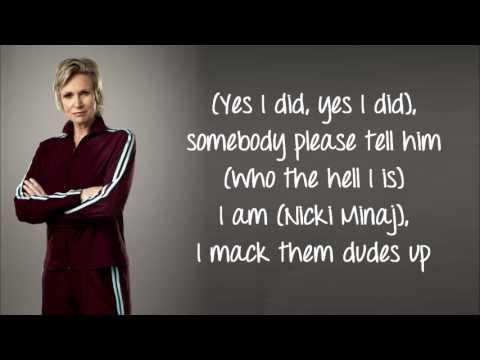 Glee - I Still Believe/Super Bass (Lyrics)