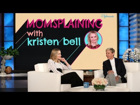Kristen Bell Ps Season 2 of 'Momsplaining' with a Live Birth!