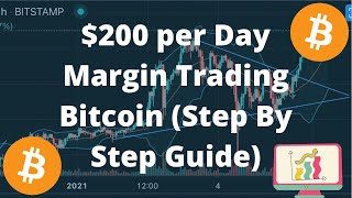 How to Make $200/day Leverage Trading Bitcoin (Exact Strategy Step by Step)💰