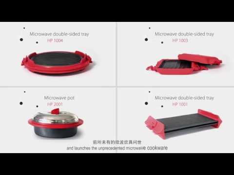 maconee microwave cookware microwave sandwich maker grill tray crisper pan