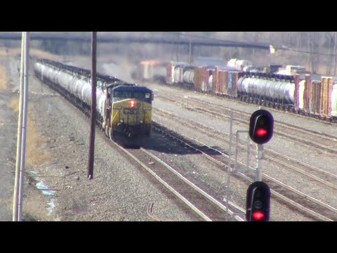 Railfanning: Expedition to CSX's Selkirk Yard - Part One