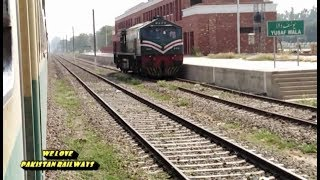 Sahiwal To Okara Journey || 15Up Karachi Express || Henschel Locomotive Germany 2000 Hp