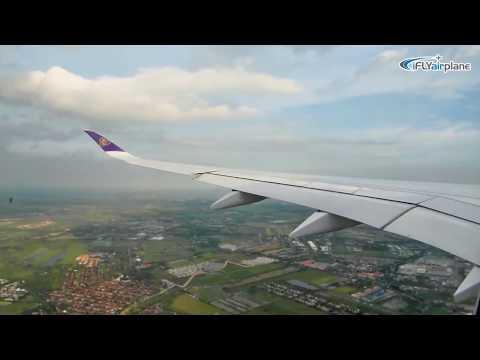 Thai airways First A350-941XWB HS-THB first day operation การบินไทย A350 วันแรก