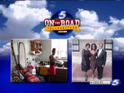 Anita Blanton Shares College Memories - YouTube