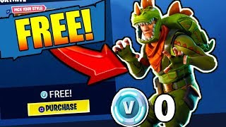 *NEW* How to get REX for FREE in FORTNITE: Battle Royale (Working)