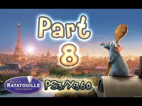 Ratatouille Walkthrough Part 8 The Movie Game Ps3