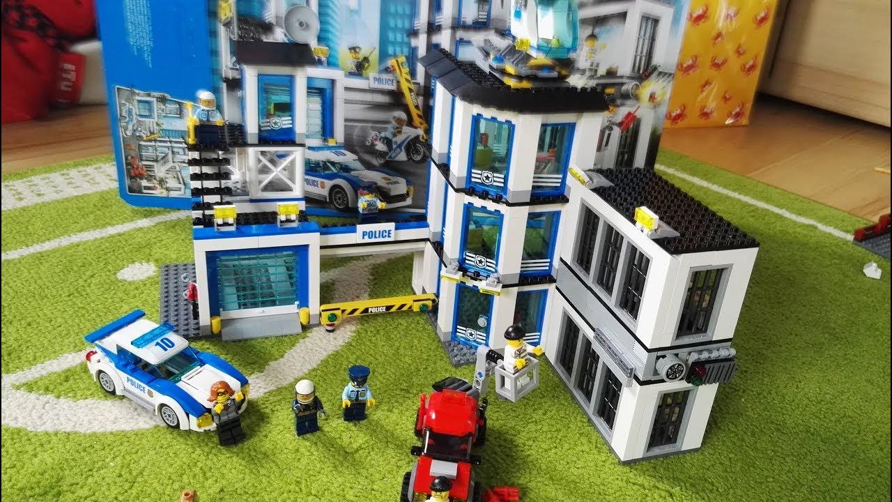 Zestaw Lego City Komisariat Policji Budowanie 2017 Youtube