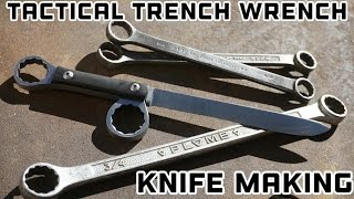 Knife Making - Tactical Trench Wrench Knife