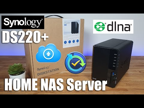 Synology DS220+ Unboxing | Includes Setup of PC Backup / Cloud Sync / DNLA Service