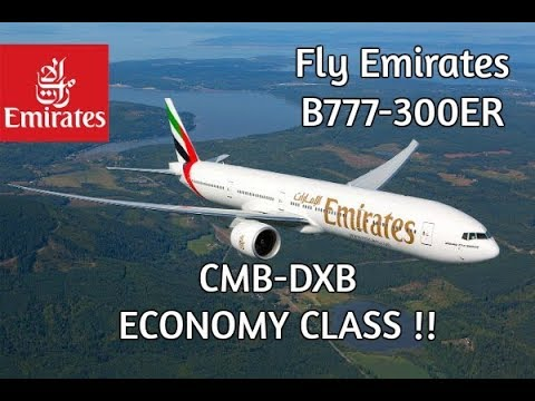 Fly Emirates B777-300ER Economy Class Colombo To Dubai (TRIP REPORT S02 EP02)