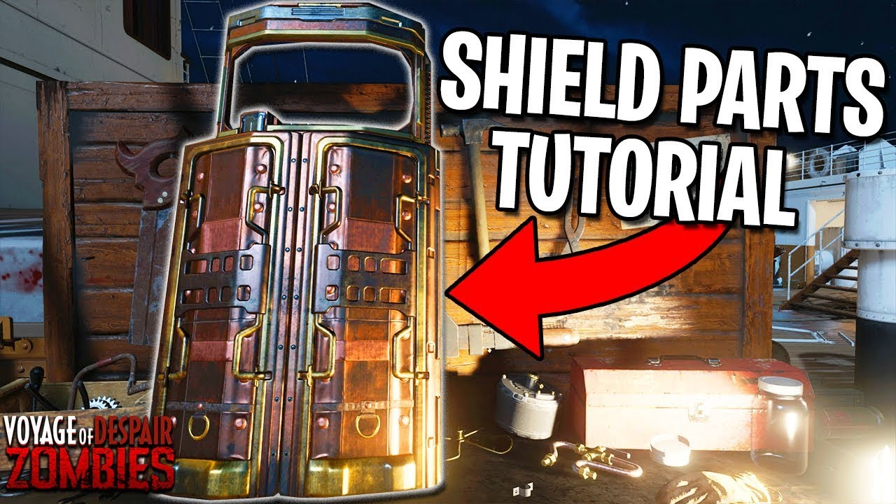How To Build The Shield On Voyage Of Despair Black Ops 4 Zombies Gameplay Tutorial Parts Guide Youtube