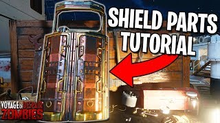 How To Build The SHIELD on VOYAGE OF DESPAIR (Black Ops 4 Zombies Gameplay Tutorial Parts Guide)