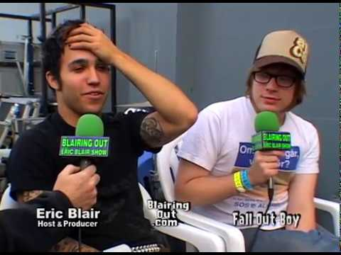 Fall Out Boy & Eric Blair talk about everything 2004