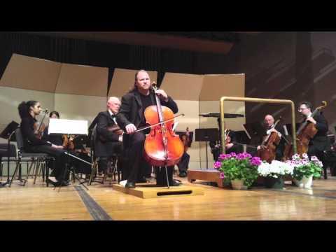 Jameson Platte Plays The Bach Prelude In G Major For Solo Cello