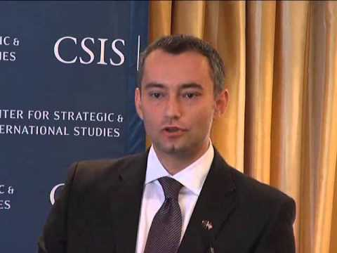 Statesmen's Forum Nickolay Mladenov, Minister of Foreign Affairs of the Republic of Bulgaria