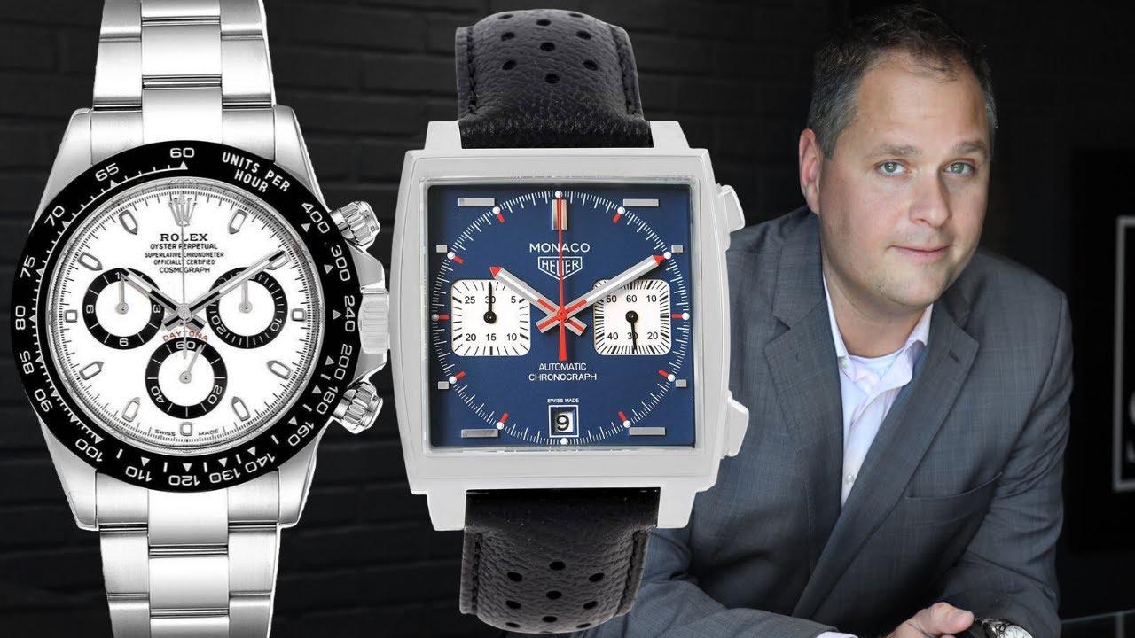 Best Racing Watches Rolex Daytona Tag Heuer Monaco Omega Speedmaster More Swisswatchexpo Youtube