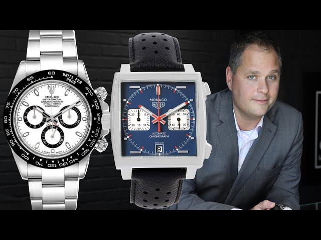 Best Racing Watches: Rolex Daytona, Tag Heuer Monaco, Omega Speedmaster & More | SwissWatchExpo