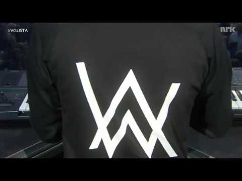 Sing Me To Sleep Faded Live VG-lista 2016 - Alan Walker