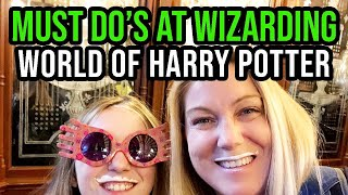 Must Do's at Wizarding World of Harry Potter at Universal Orlando