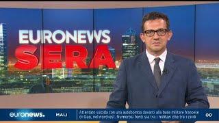 Euronews Sera - Tg Europeo, edizione del 24 luglio 2019 Video